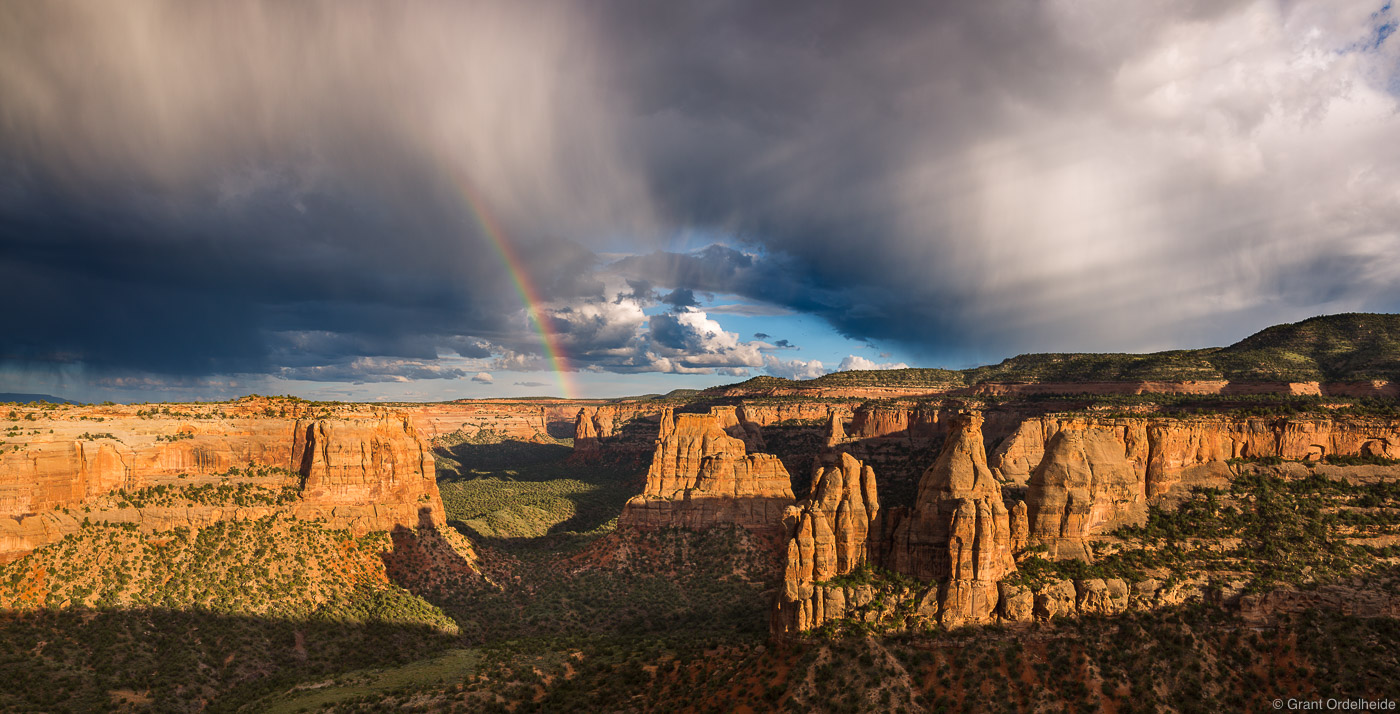 colorado, national, monument, usa, summer, monsoon, fruita,, photo