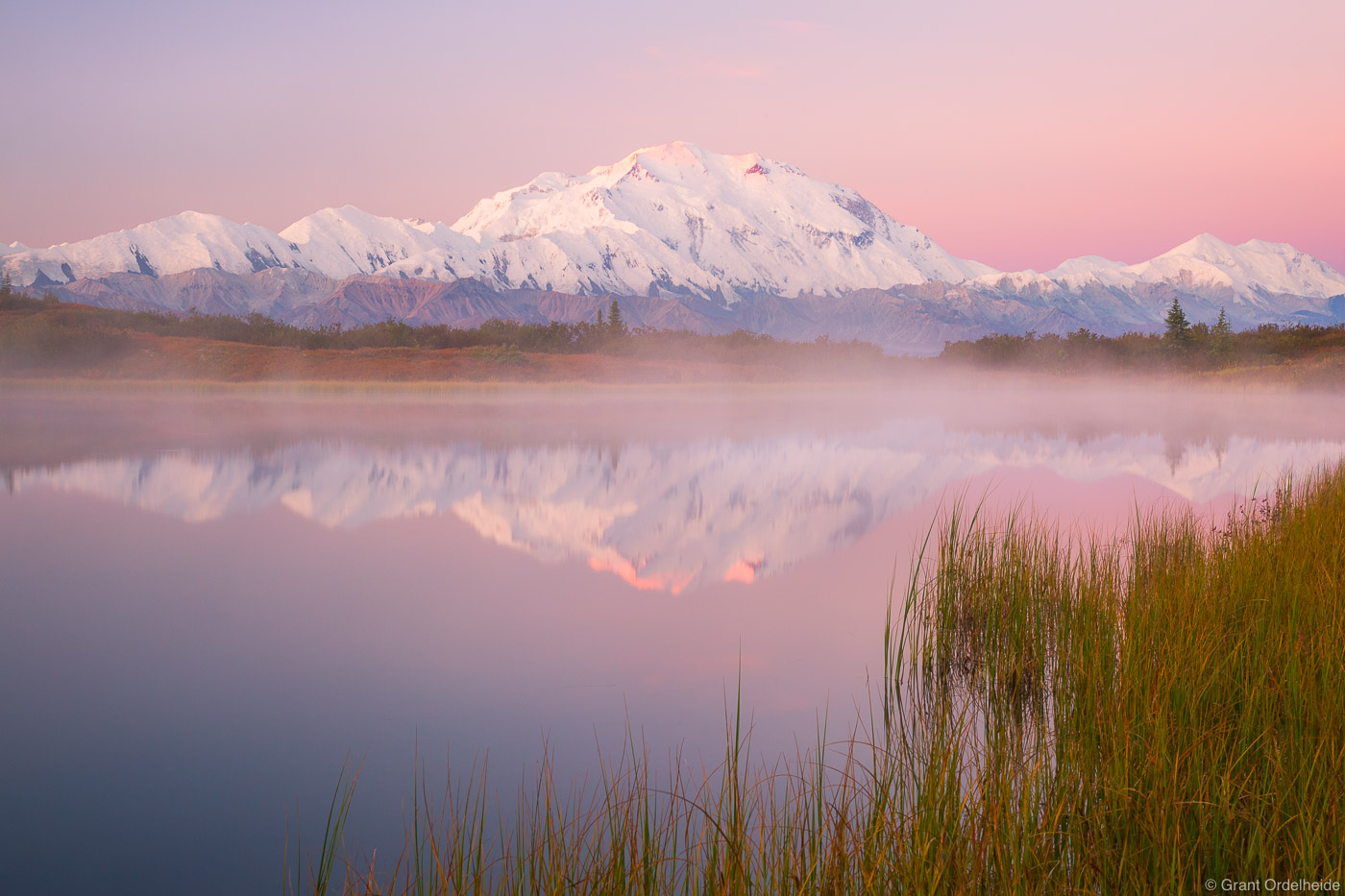 denali, sunrise, national, park, alaska, usa, highest, peak, north, america,, photo