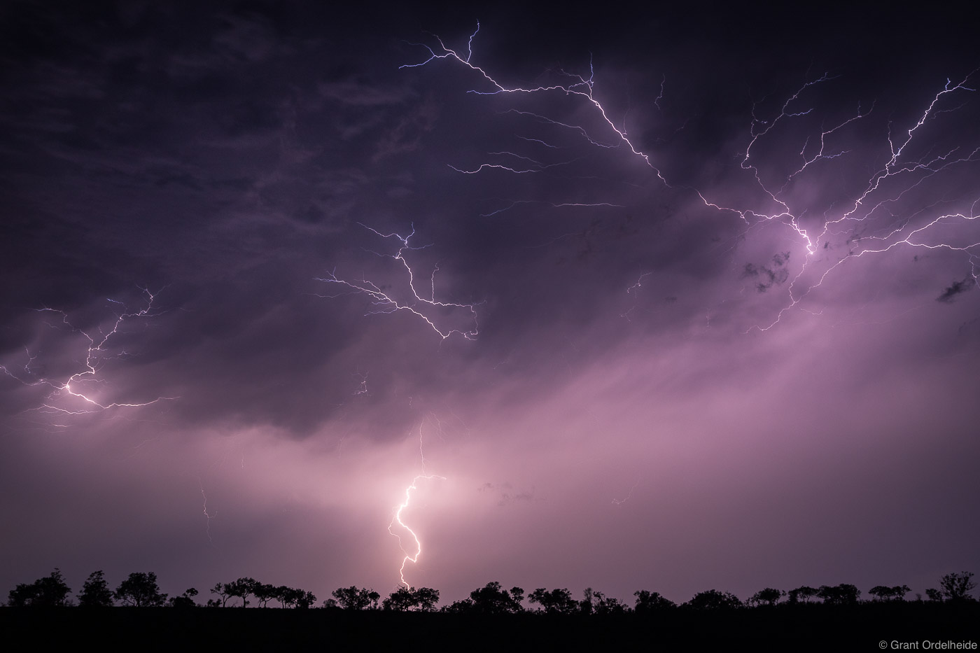 Africa, lightning, bush, sabi, sands, south, africa, storm, game, reserve,, photo