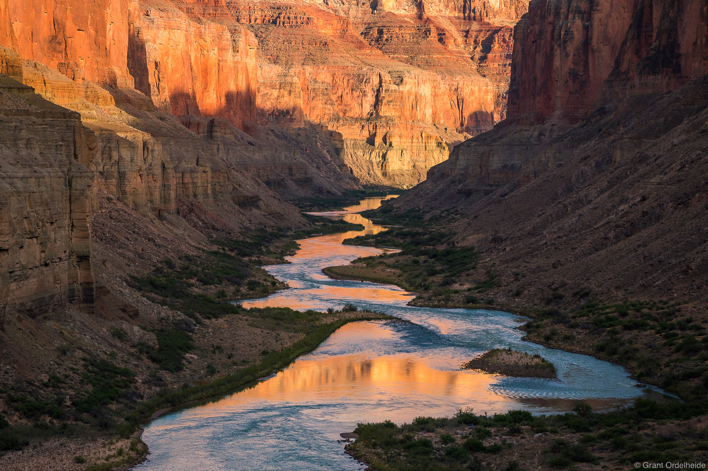 colorado, river, grand, canyon, national, park, arizona, through, traveling, photo