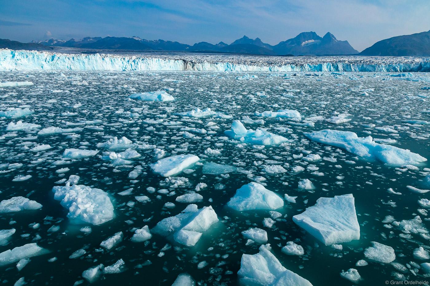 columbia, glacier, valdez, alaska, icebergs, massive, prince william sound, , photo