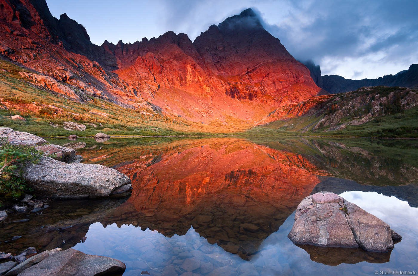 crestone, needle, sangre de cristo, colorado, red, sunrise, dramatic, fourteen, thousand, foot, peaks, south, colony, la, photo