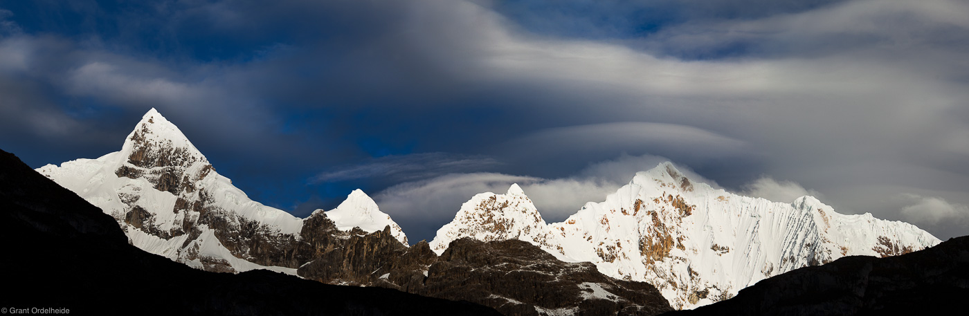 huayhuash, storm, stormy, morning, early, rugged, cordillera, huaraz, peru, photo