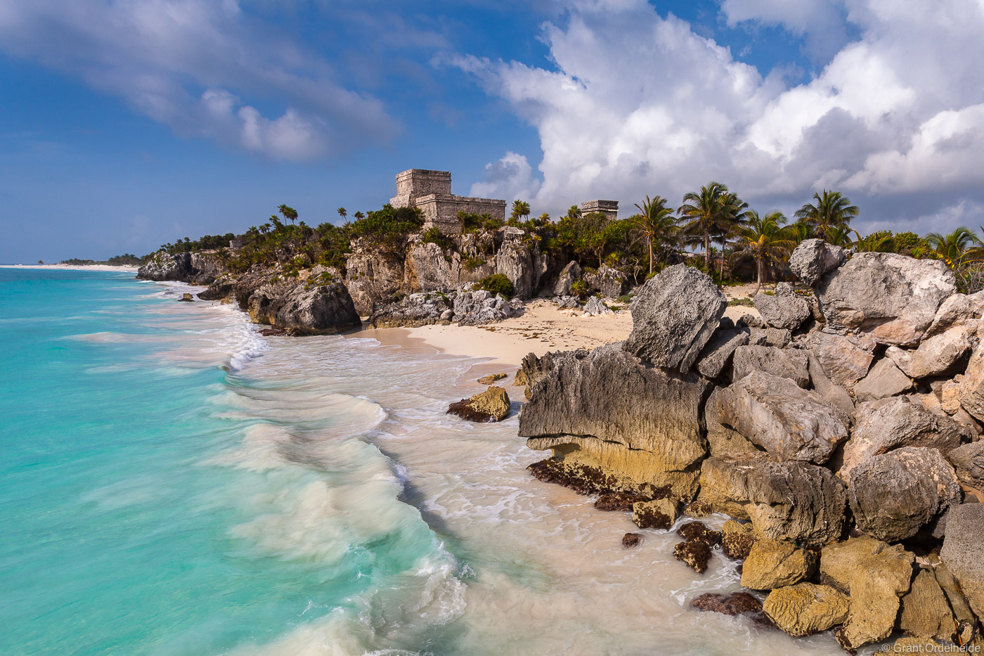 tulum, yucatan, peninsula, mexico, beachside, ruins, , photo