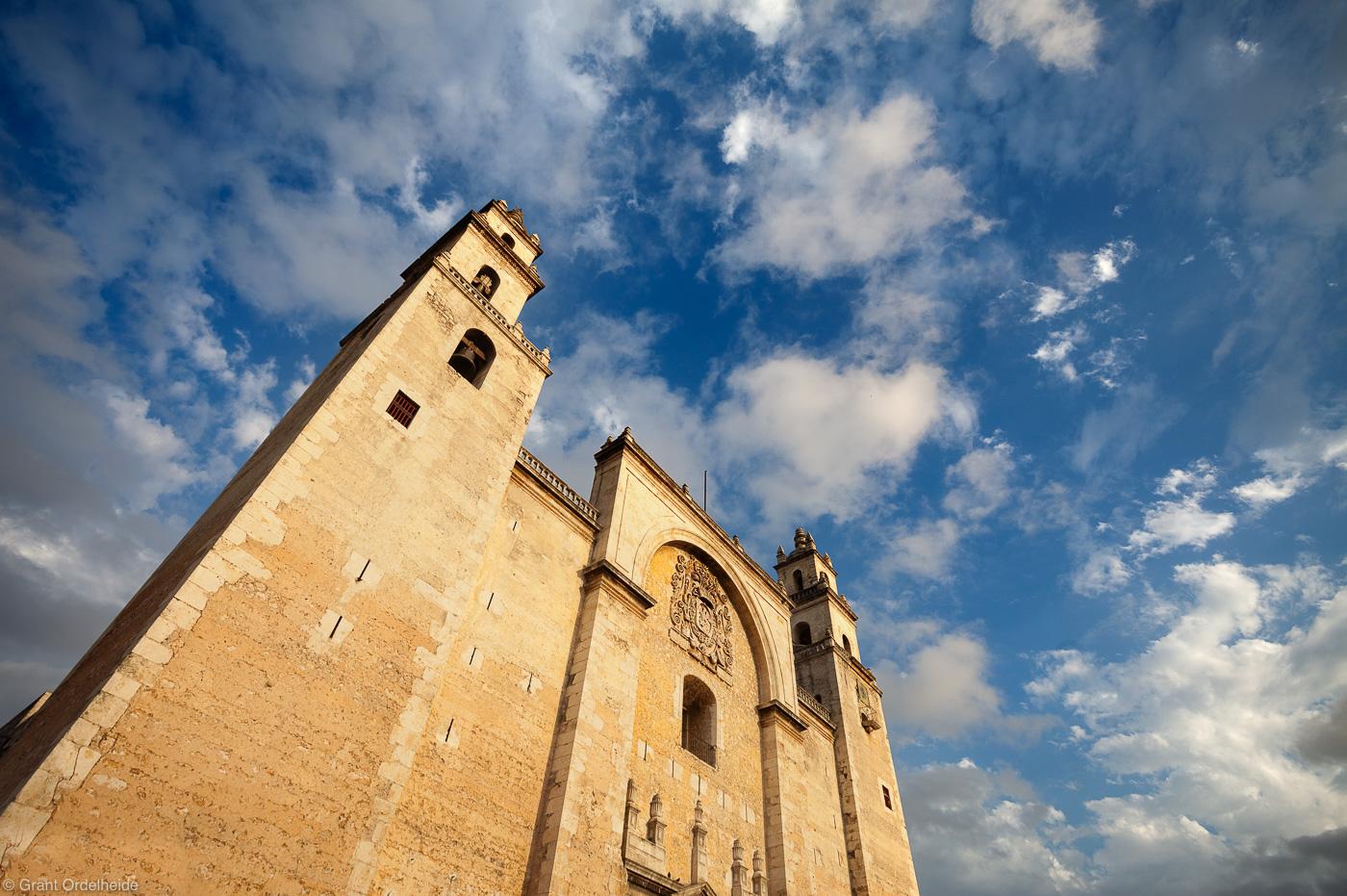 merida, cathedral, merida, yucatan, mexico, church, oldest, americas, worship, community, photo